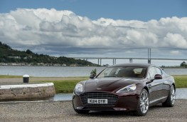 Aston Martin Rapide S, front, static