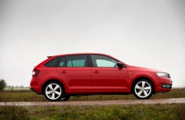 Skoda Rapid Spaceback, side, static