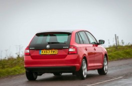 Skoda Rapid Spaceback, rear