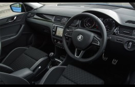 Skoda Rapid Spaceback, 2016, interior