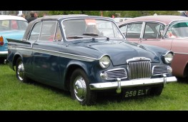 Sunbeam Rapier, 1960