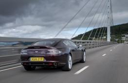 Aston Martin Rapide S, rear, action