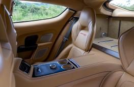 Aston Martin Rapide S, rear seats