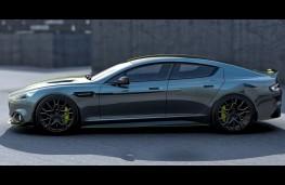 Aston Martin Rapide AMR, 2017, side