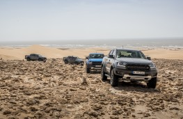 Ford Ranger Raptor, 2019, convoy