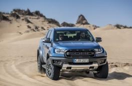Ford Ranger Raptor, 2019, front