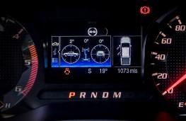 Ford Ranger Raptor, 2019, instrument panel