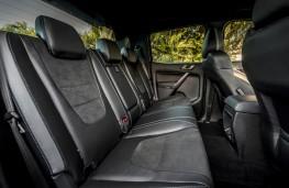 Ford Ranger Raptor, 2019, rear seats