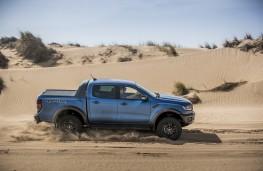 Ford Ranger Raptor, 2019, side, action