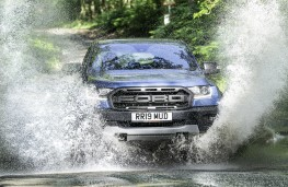 Ford Ranger Raptor, 2019, water splash