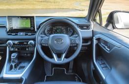 Toyota RAV4, 2020, interior