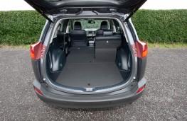 Toyota RAV4, 2016, boot