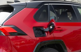Toyota RAV4 Plug-in Hybrid, 2021, charging point