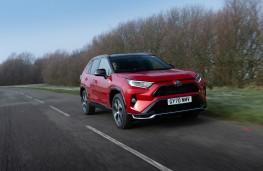 Toyota RAV4 Plug-in Hybrid, 2021, front, action