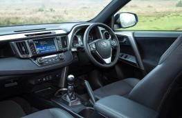 Toyota RAV4, 2016, interior