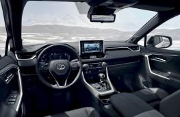 Toyota RAV4, 2019, interior