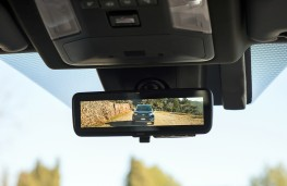 Toyota RAV4, 2019, mirror camera display