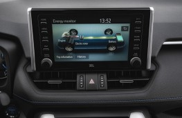 Toyota RAV4, 2019, display screen