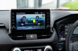 Toyota RAV4 Plug-in Hybrid, 2021, display screen