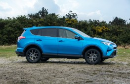 Toyota RAV4, 2016, side, static