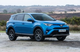 Toyota RAV4, 2016, side
