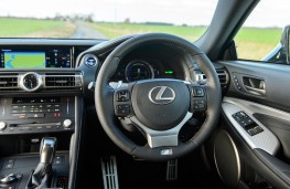 Lexus RC, 2019, dashboard