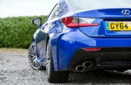 Lexus RC F, exhaust