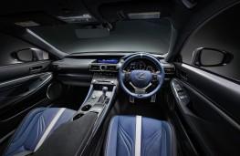 Lexus RC F 10th Anniversary, 2018, interior