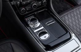 Jaguar XJR575, 2017, console