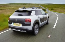 Citroen C4 Cactus Rip Curl, rear, road