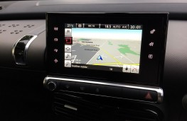 Citroen C4 Cactus Rip Curl, display screen