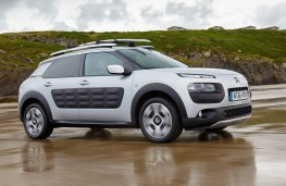 Citroen C4 Cactus Rip Curl, side, beach