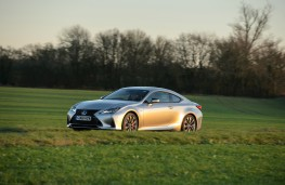 Lexus RC, 2019, side