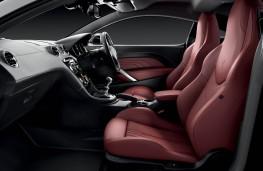 Peugeot RCZ, interior