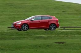 Volvo V40, 2016, R-Design, side, action
