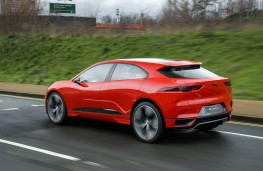 Jaguar I-PACE, 2017, rear
