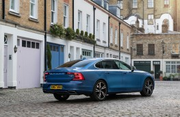 Volvo S90 Recharge T8, 2021, rear