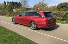 Mercedes E-Class Estate, rear