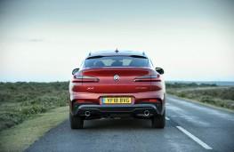 BMW X4 M Sport, rear