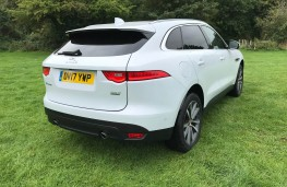Jaguar F-Pace, rear