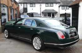 Bentley Mulsanne, Queen's former car, rear