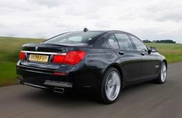 BMW 7 Series, 2009, rear