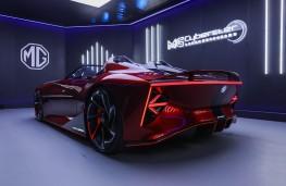 MG Cyberster, 2021, rear