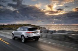 Range Rover Velar, 2017, rear, action