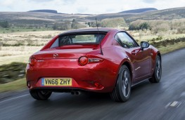 Mazda MX-5 RF, 2017, rear, action, roof up