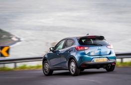 Mazda2, Epic Drive Azores, 2017, rear, cornering