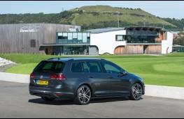 Volkswagen Golf estate, 2017, rear, static