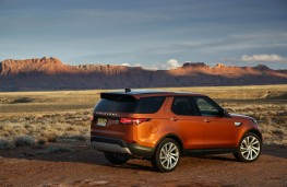 Land Rover Discovery, 2017, rear, static
