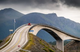 Mazda CX-3, 2017, bridge, Atlantic Highway, Norway