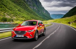Mazda CX-3, 2017, front, action